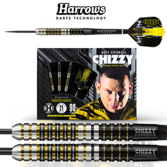 Harrows Chizzy Dave Chisnall 90% Tungsten Darts 23g
