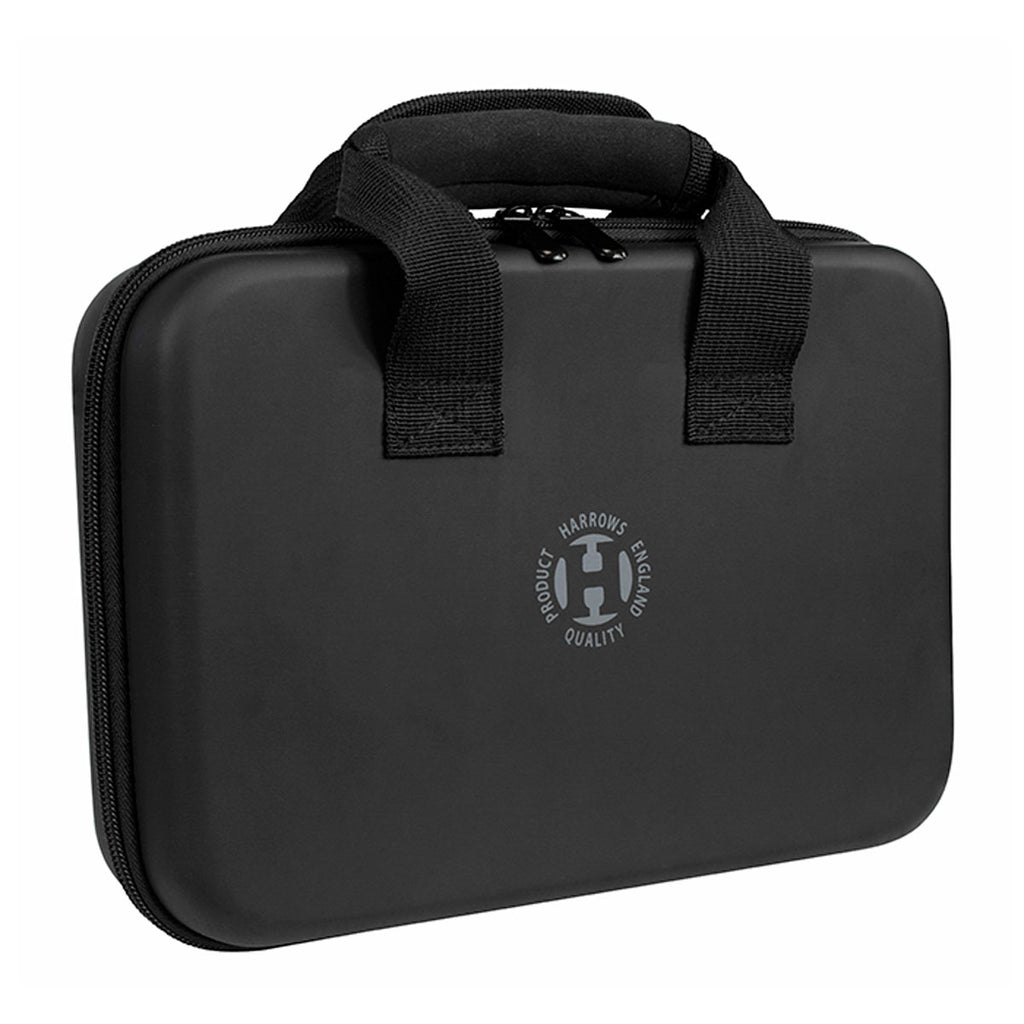 Harrows Imperial Dart Case - Holds 4 Sets & Accessories - Black