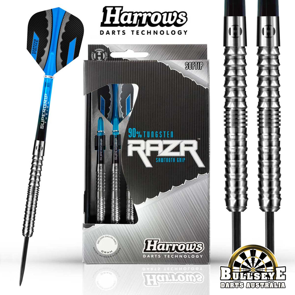 Harrows Darts | Razr Parallel 90% Tungsten Steeltip 30g