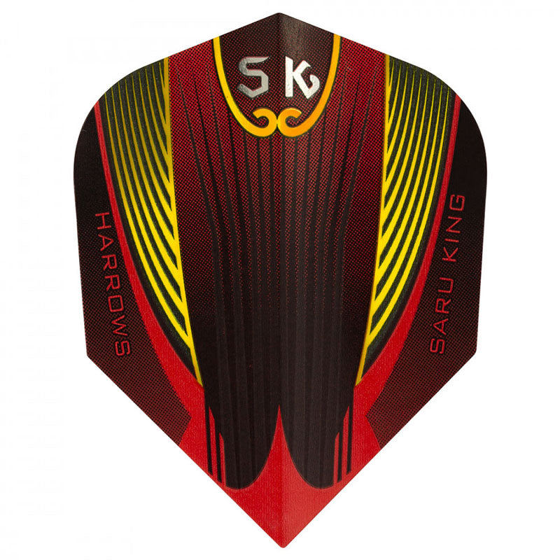 Harrows Prime Saru King Flights - Red