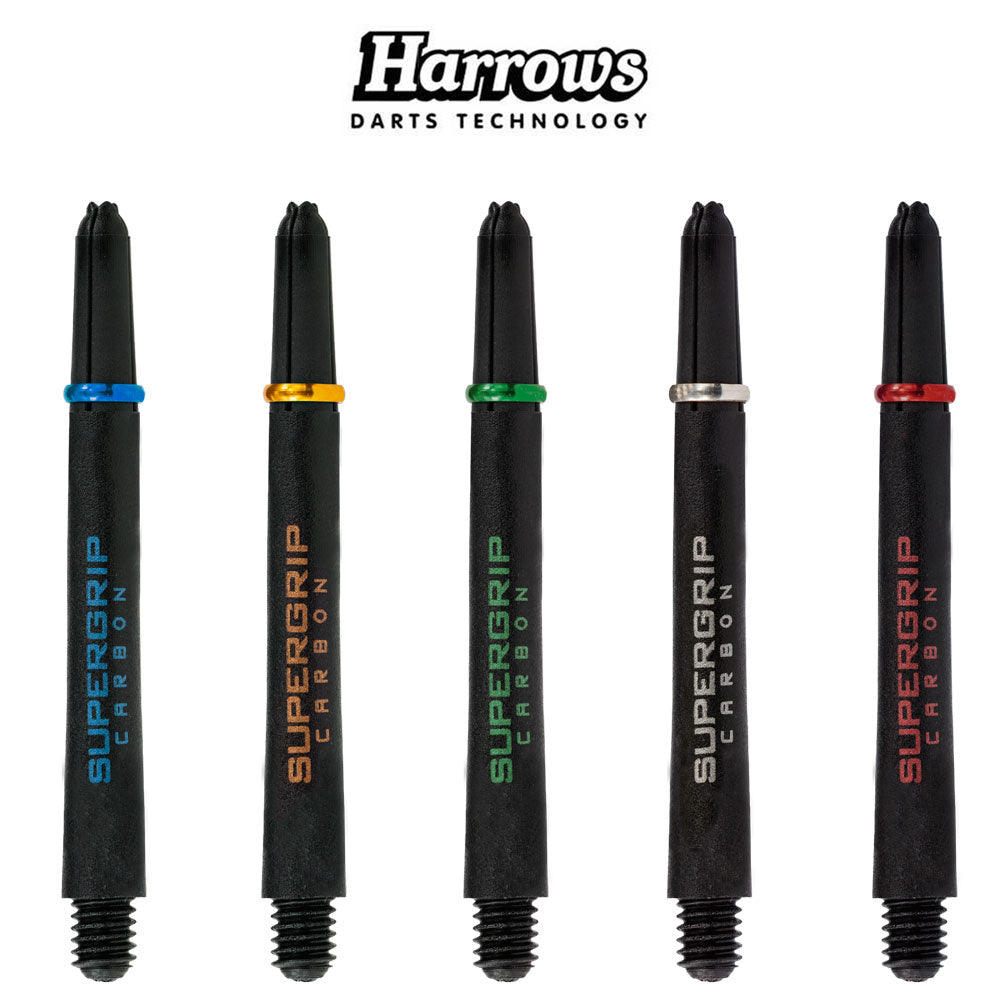 Harrows Supergrip Carbon Shafts - MEDIUM 47mm