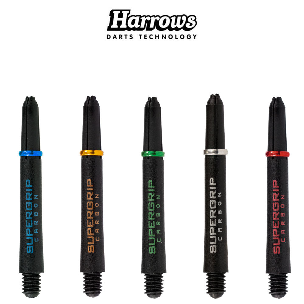 Harrows Supergrip Carbon Shafts - MIDI 40mm
