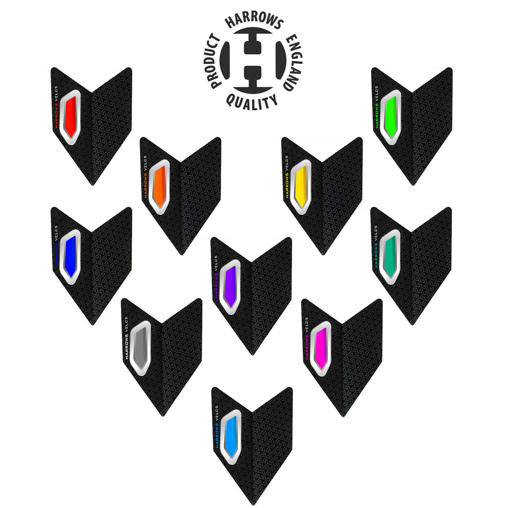 Harrows Velos High Stability Dart Flights