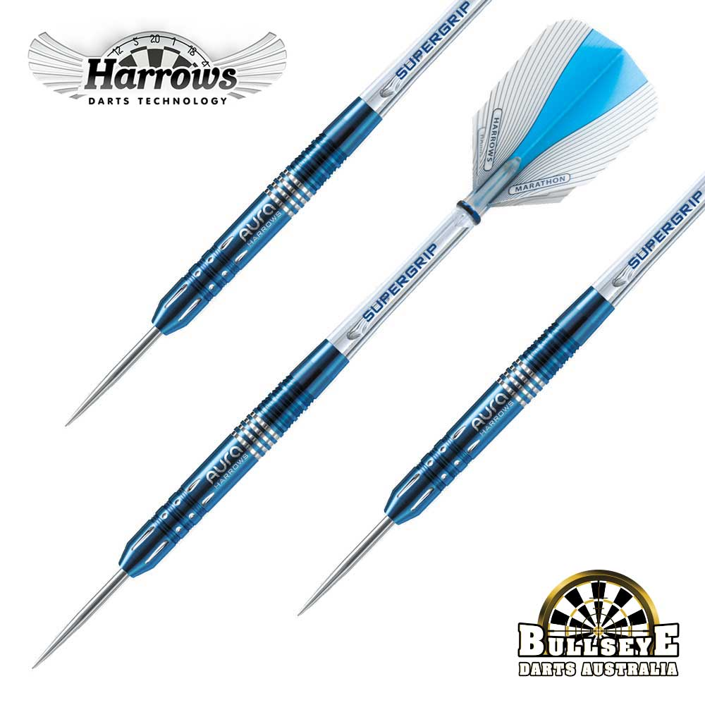 Harrows 26g Aura A2 Darts Straight Barrel - 95% Tungsten