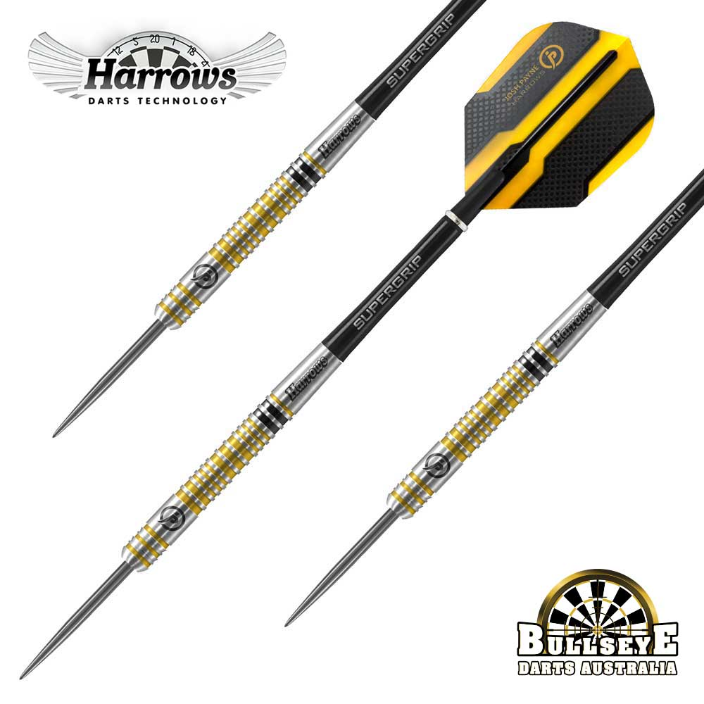 Harrows Josh Payne Max 180 Darts - 90% Tungsten 26g