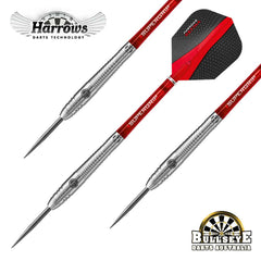 Harrows Retina Shark Grip Darts, 95% Tungsten 25g