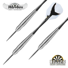Harrows Silver Shark, Tungsten Look Nickel Steel Tip Darts