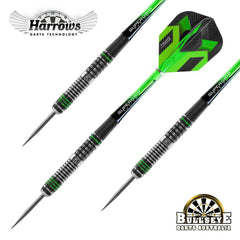 Harrows Veridian Darts Multi Grip Barrel 21 - 25g