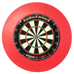 Formula Micro Band 3 Pro Dartboard and Polymer Surround Deal
