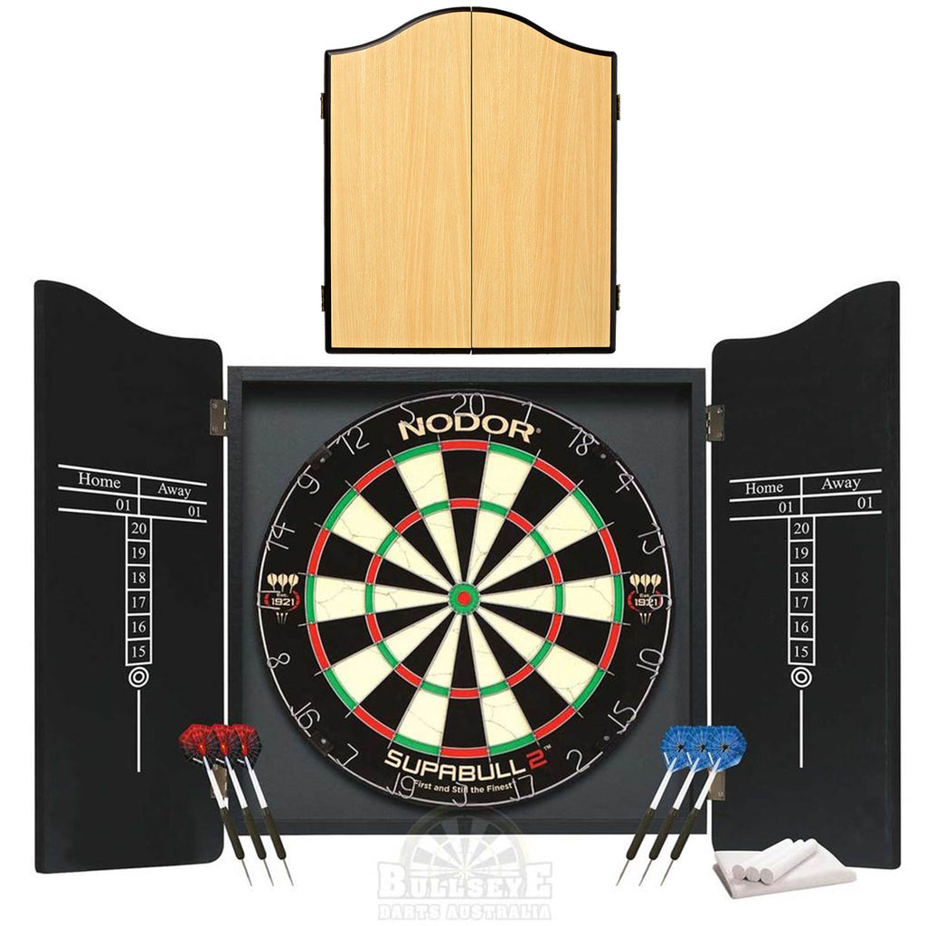 Nodor Professional Darts Set - Colour Beech