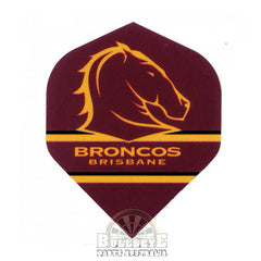 Brisbane Broncos NRL Dart Flights