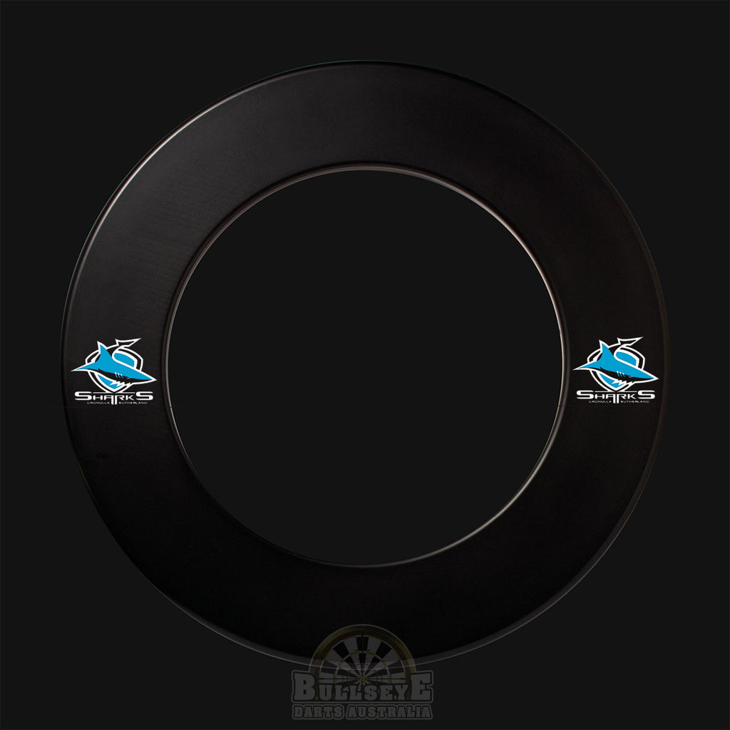 NRL Licensed Cronulla Sharks Dartboard Surround