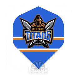 Gold Coast Titans NRL Dart Flights