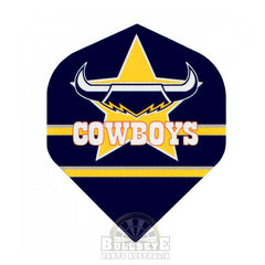 North QLD Cowboys NRL Dart Flights
