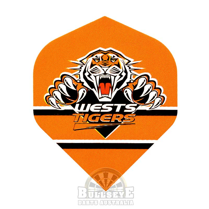 Wests Tigers NRL Dart Flights