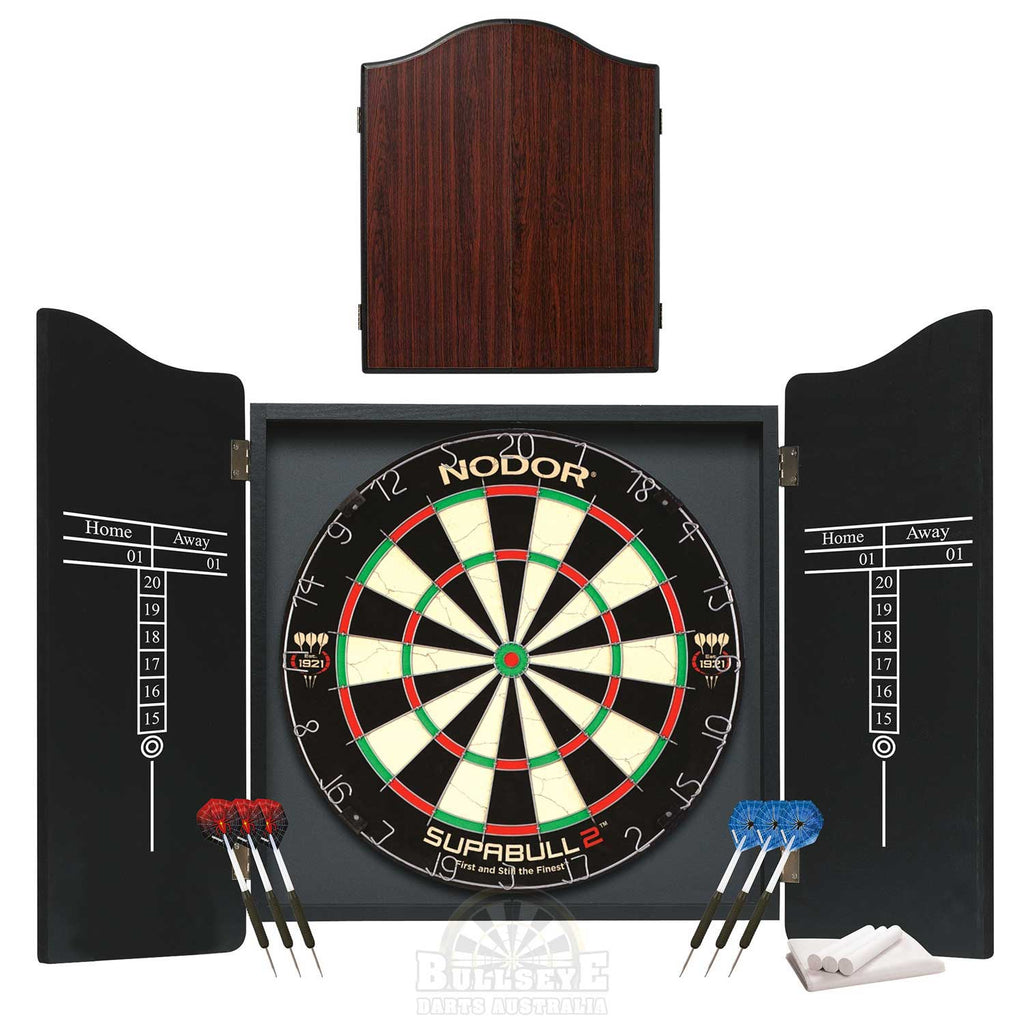 Nodor Professional Darts Set - Colour Rosewood