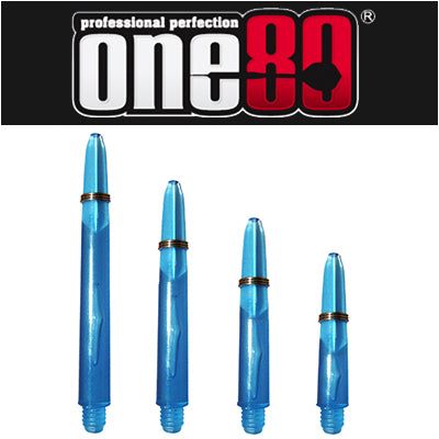 One80 Proplast Spring Loaded Transparent Shafts Blue