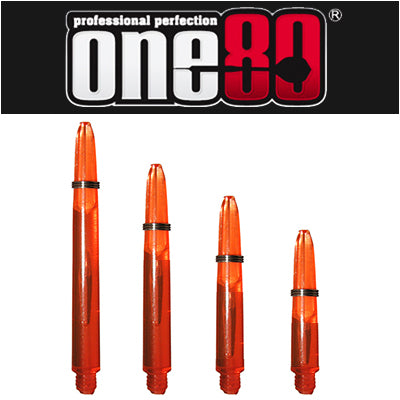 One80 Proplast Spring Loaded Transparent Shafts Orange