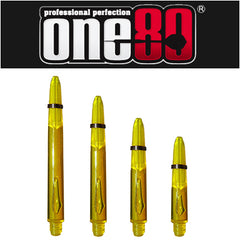 One80 Proplast Spring Loaded Transparent Shafts Yellow