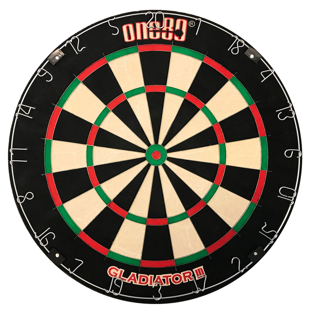 One80 Gladiator III Professional Low Noise Dartboard