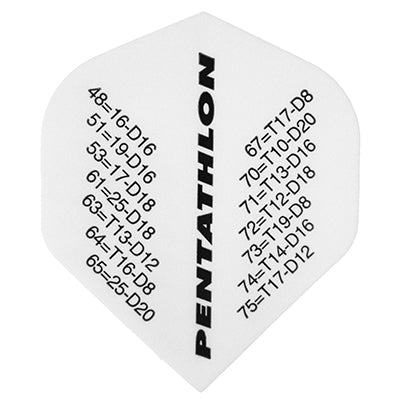 Pentathlon Checkout Flights with Printed Peg Out Chart