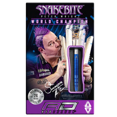RED DRAGON Peter Wright Snakebite BLUE PL15 Darts - 90% Tungsten - 24g