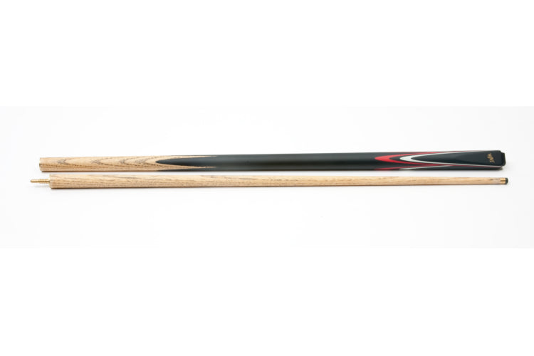 "DUFFERIN 57"" 50/50 Length Cue - Red/White"