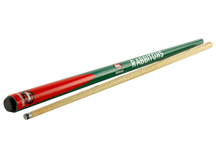 "NRL 2pce 57"" Ash Cue - South Sydney Rabbitohs"
