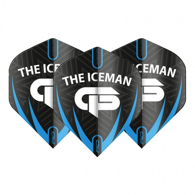 Red Dragon Gerwyn Price Iceman Flights - GP Black