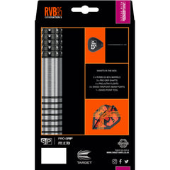 TARGET RVB G3 Swiss Point Darts - 95% Tungsten - 23g