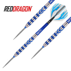 Red Dragon - Gerwyn Price Darts - Blue Razor Grip - 26g