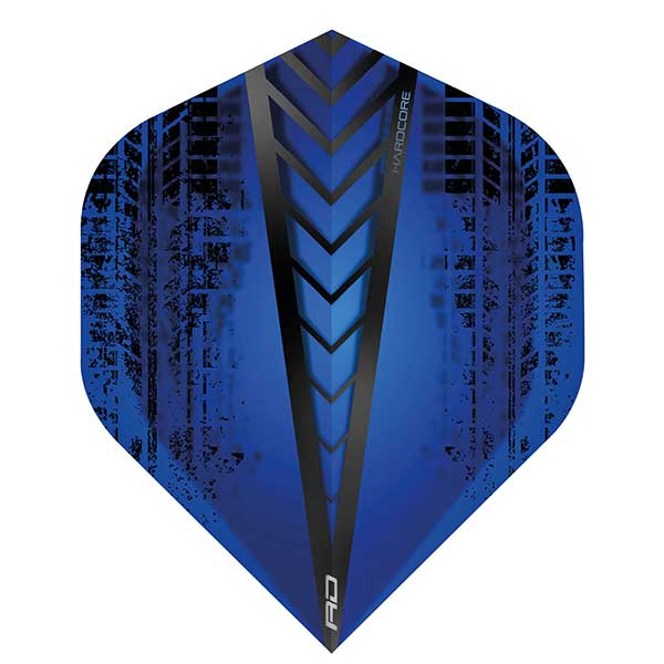 Red Dragon Hardcore Dart Flights Extra Thick - Blue