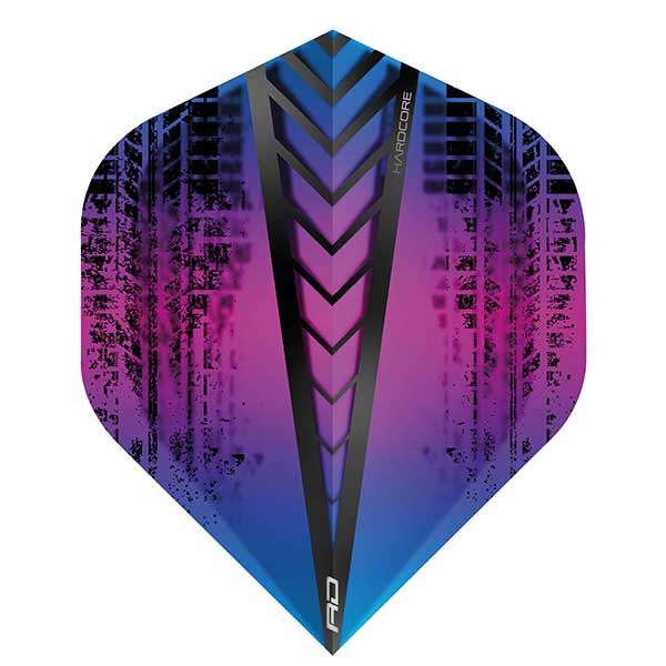 Red Dragon Hardcore Dart Flights Extra Thick - Purple Haze