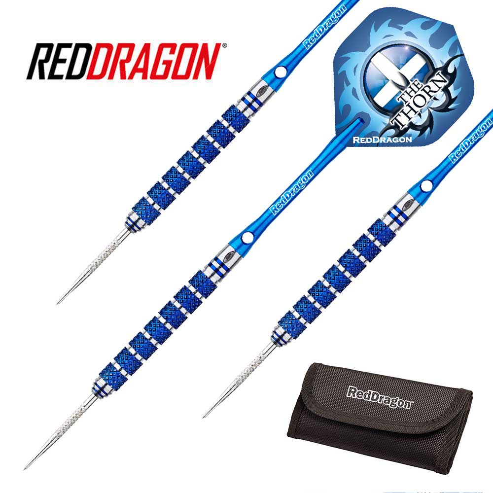 Red Dragon Robert Thornton Darts Blue 26g