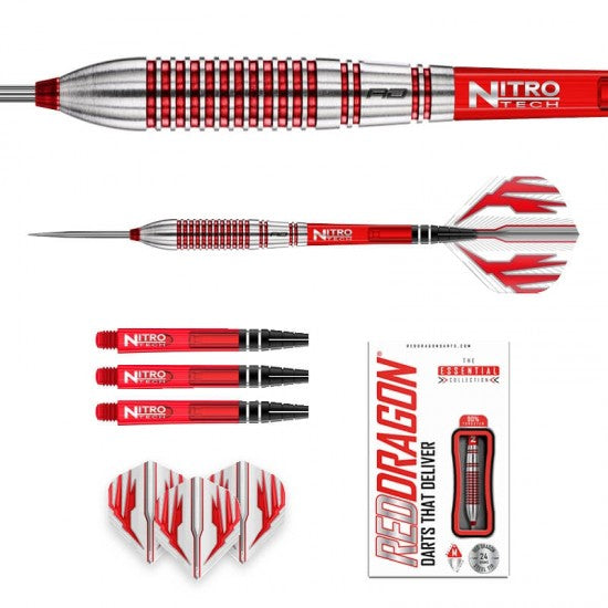 RED DRAGON Reflex Darts - 90% Tungsten Torpedo - 26g
