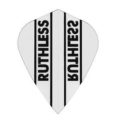 Ruthless Kite Clear Panel Extra Tough Flights - Clear