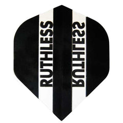 Ruthless Clear Panel Extra Tough Flights - Black