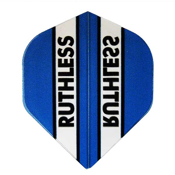 Ruthless Clear Panel Extra Tough Flights - Blue