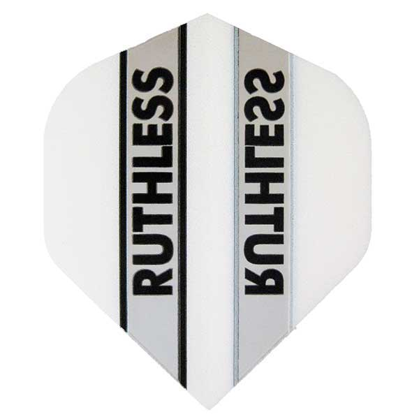 Ruthless Clear Panel Extra Tough Flights - White