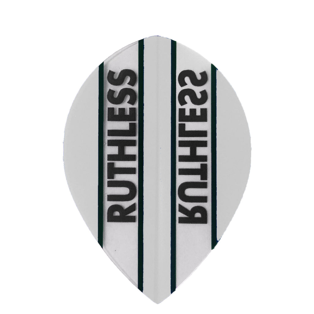 Ruthless Pear Clear Panel Extra Tough Flights - Clear