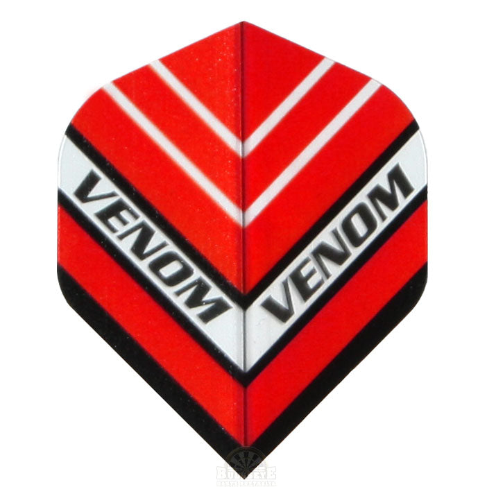 Ruthless Venom 150 Micron Extra Thick Flights - Red
