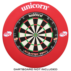 Unicorn Striker Dartboard Surround Red