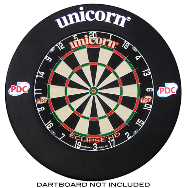 Unicorn Striker Dartboard Surround Black