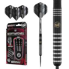 Winmau Scott Mitchell Darts - 90% Tungsten - 22g