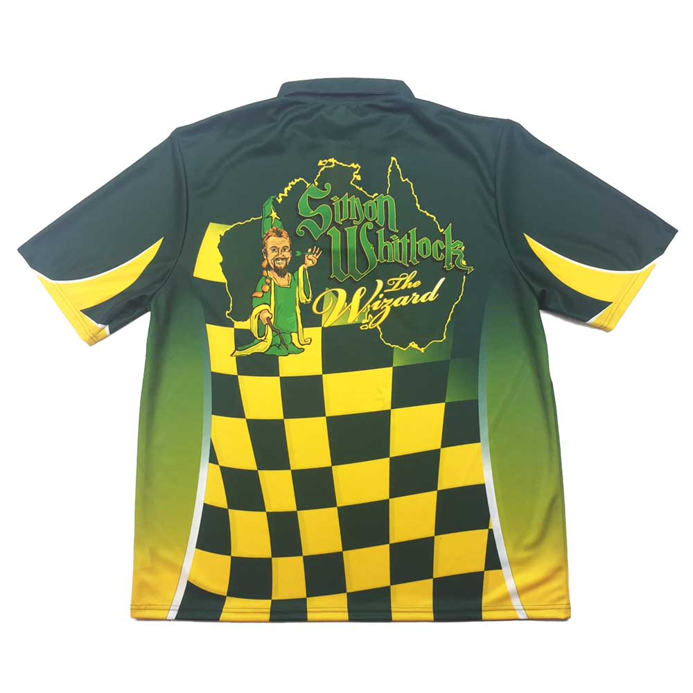 Simon 'The Wizard' Whitlock Official Replica Playing Shirt 2XL