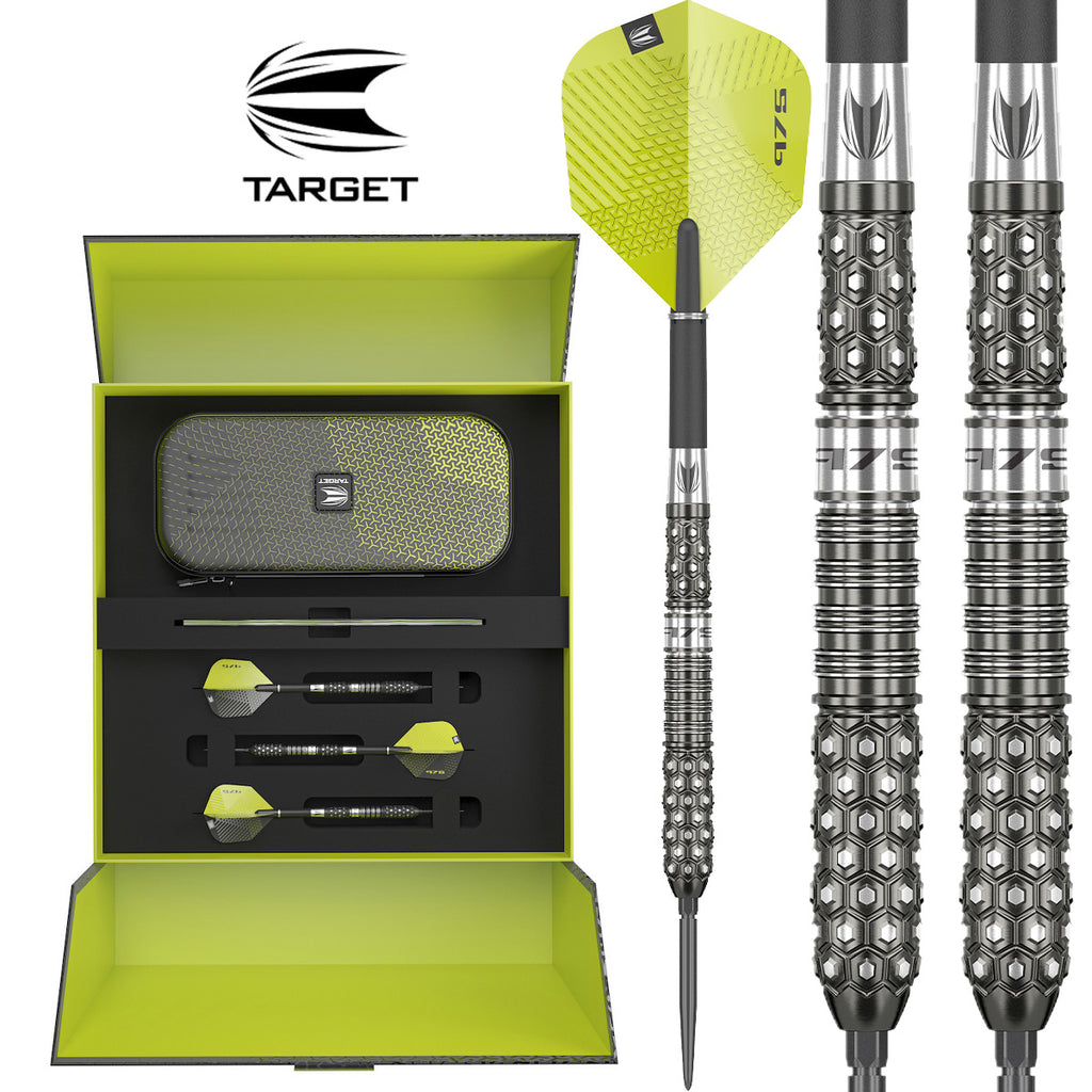 TARGET 975-02 Swiss Point Darts - 97.5% Tungsten - 23g