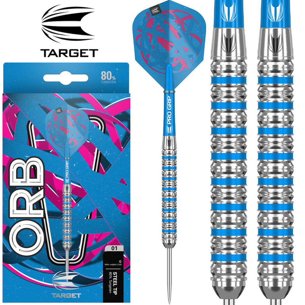 TARGET Orb 01 Blue Ring Darts - 80% Tungsten - 22g