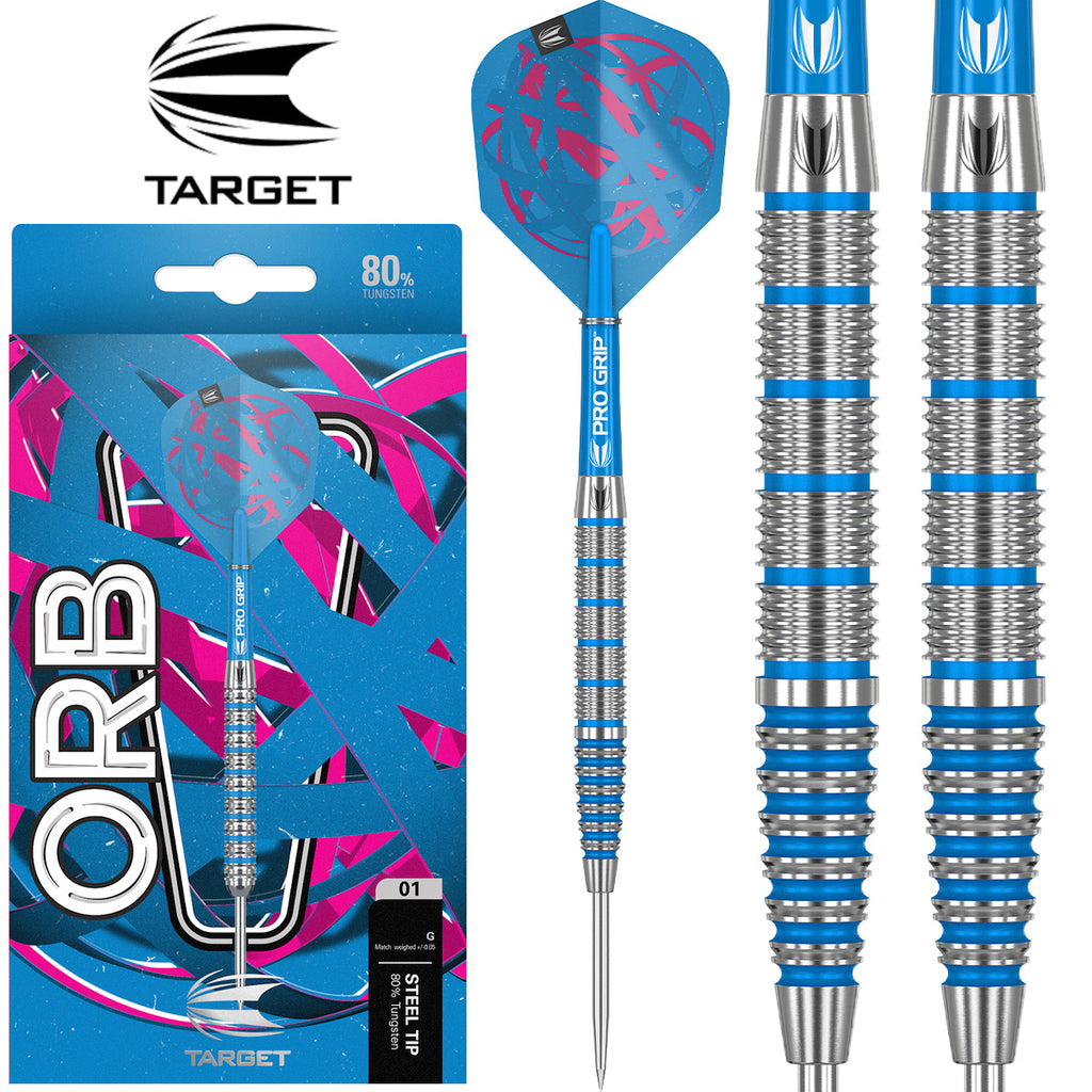 TARGET Orb 02 Blue Ring Darts - 80% Tungsten - 24g