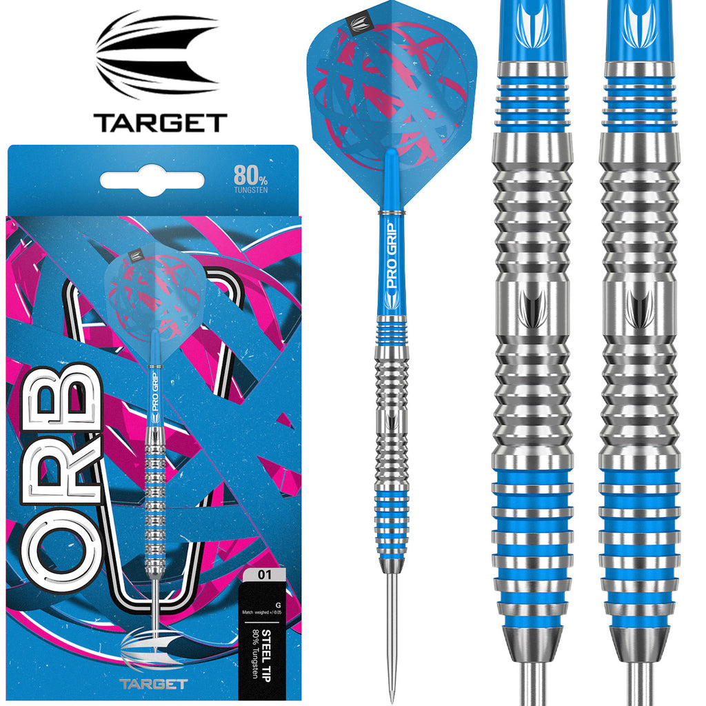TARGET Orb 03 Blue Ring Darts - 80% Tungsten - 21g