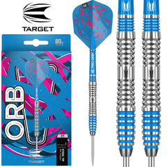 TARGET Orb 03 Blue Ring Darts - 80% Tungsten - 23g
